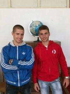 Стефан Стефанов и Петър Петров от 132