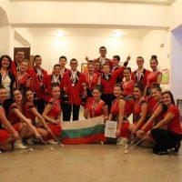 Младежкият духов оркестър и мажоретният състав в Прага, 2017