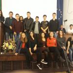 Клубът по роботика към ПГ по КТС с ръководител инж. Венцислав Начев